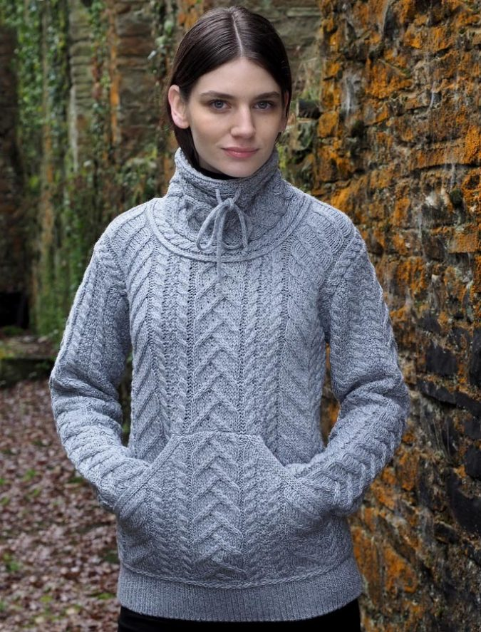 Aran-sweater-women-675x887 Embrace the Autumn with Aran Sweaters and Irish Knits