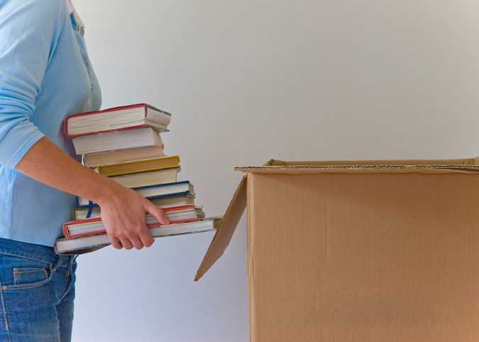 Books-for-donation-675x482 6 Items Around the House that You Can Donate to Charity