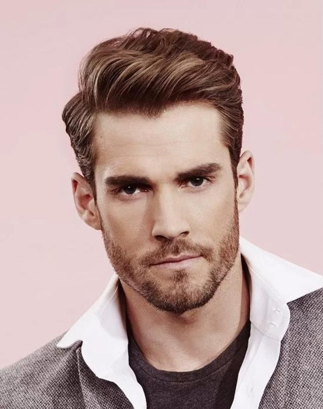Classic-side-part-haircut 4 Trending Hairstyles for Men to Try