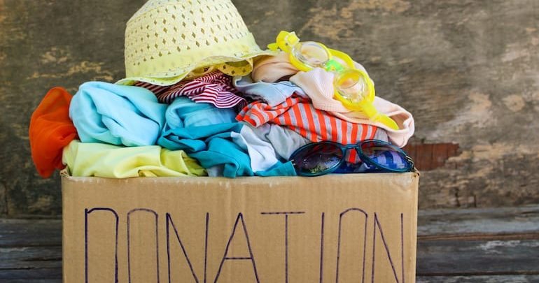 Photo of 6 Items Around the House that You Can Donate to Charity
