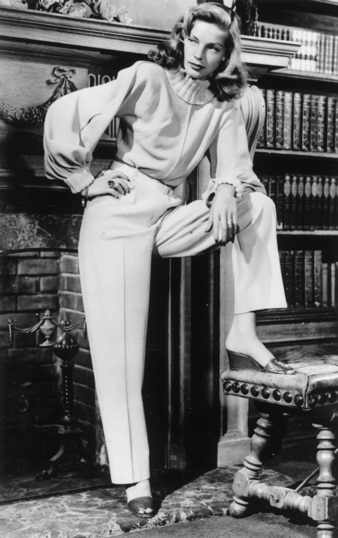 Lauren-Bacall--675x1075 20 Hollywood Actresses Who Changed Fashion Forever