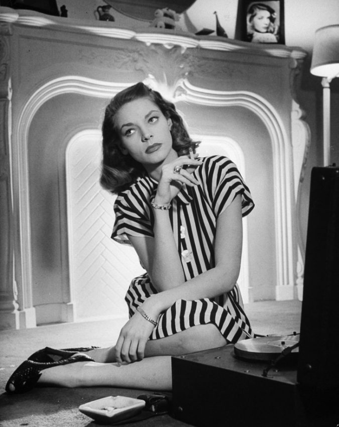 Lauren-Bacall-1940s-675x850 20 Hollywood Actresses Who Changed Fashion Forever