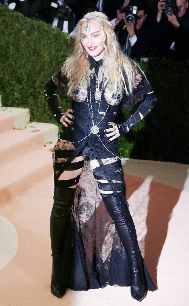Madonna-Met-Gala-2016 20 Hollywood Actresses Who Changed Fashion Forever