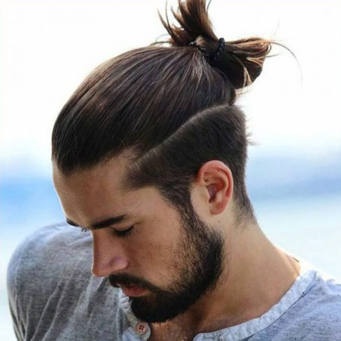 Men's-top-knot-haircut-1-e1568626906559-675x675 4 Trending Hairstyles for Men to Try