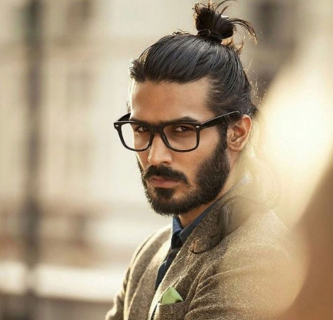 Men's-top-knot-haircut-675x649 4 Trending Hairstyles for Men to Try