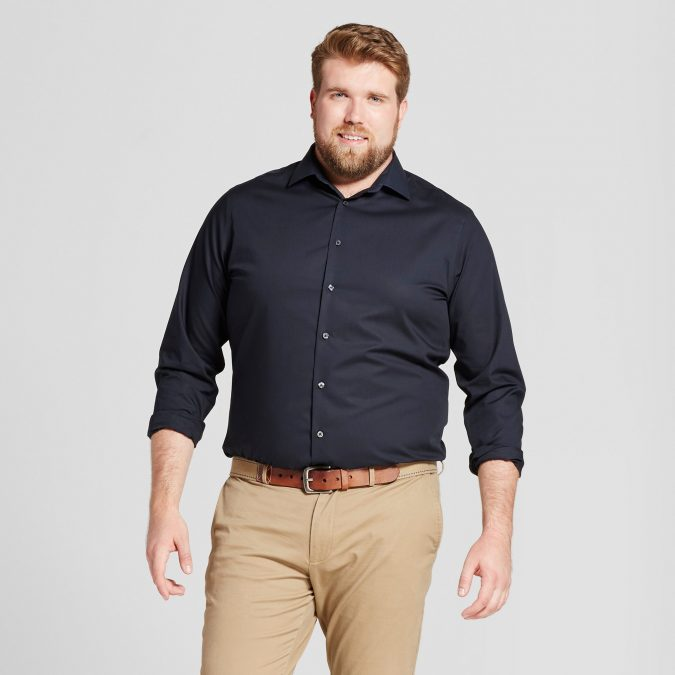 Plus-Size-Men's-fashion-675x675 10 Fashion Tips for Plus-Size Men to Wear in Office
