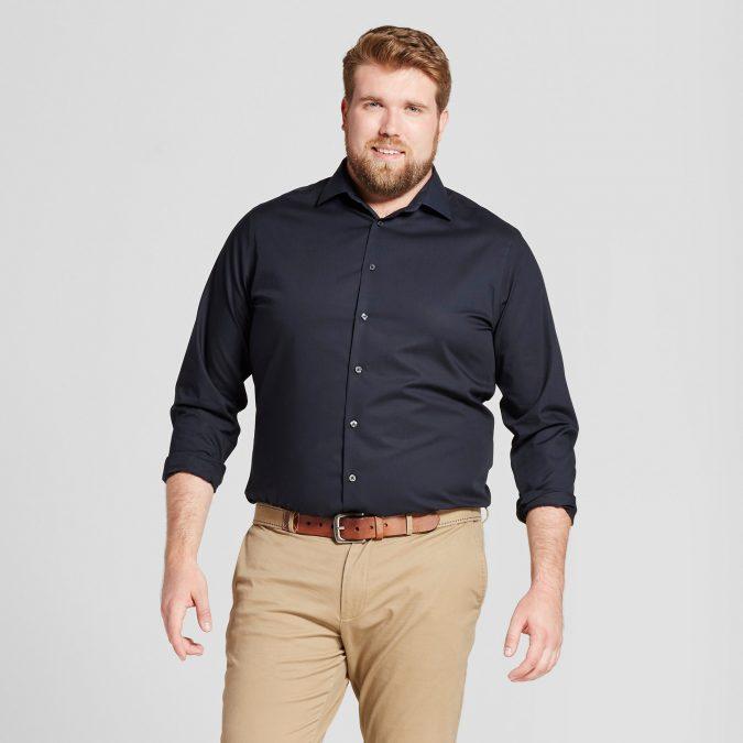 Plus-Size-Men's-fashion-675x675 10 Fashion Tips for Plus-Size Men to Wear in Office