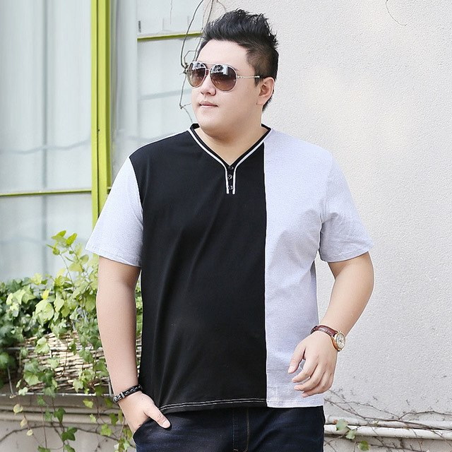 V-–-Neck-tops 10 Fashion Tips for Plus-Size Men to Wear in Office
