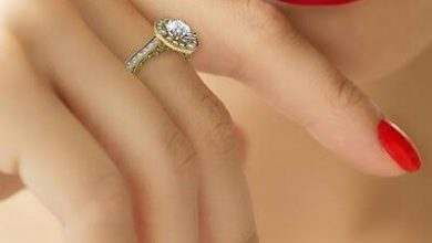 Photo of Low Profile Engagement Rings with Bezel Set