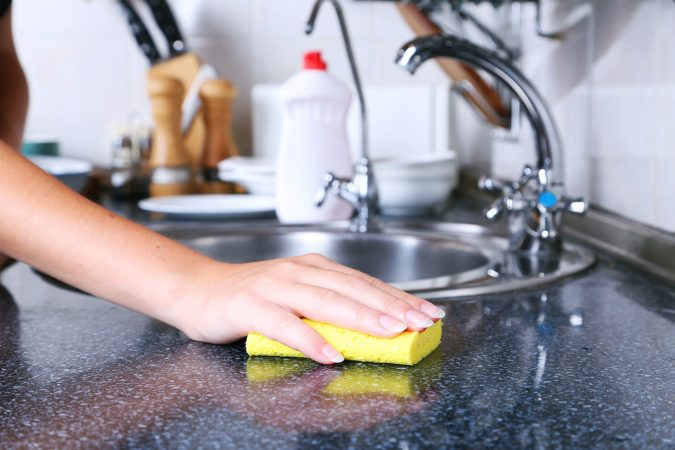 cleaning-kitchen-675x450 Best 15 Natural Remedies for Getting Rid of Pests in Your House