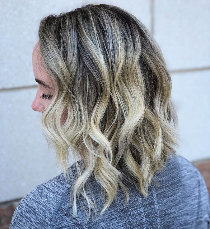 cute-hairstyle-675x734 Completely Fashionable Medium Length Hairstyles