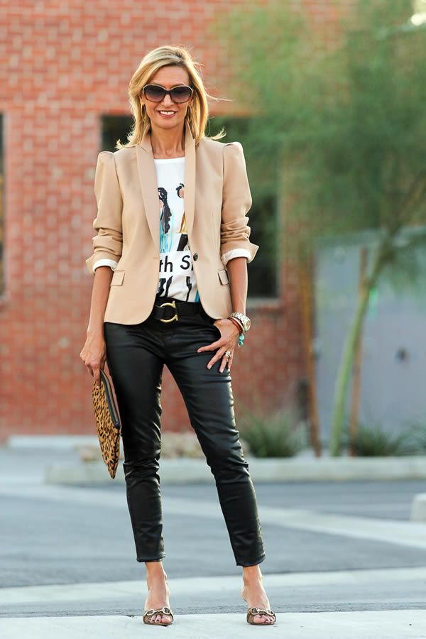 jacket-outfit 20 Must-Have Wardrobe Pieces Every Woman Over 40 Needs