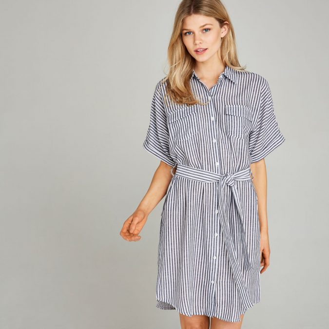 shirt-dress-675x675 20 Must-Have Wardrobe Pieces Every Woman Over 40 Needs