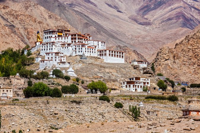 tibetan-buddhist-monastery-675x450 Ten Ideas for Family Holidays in India