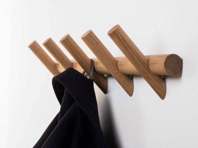 Coat-hangers-from-wood-675x506 Using Wood to Decorate Your Home - Easy Tips and Tricks