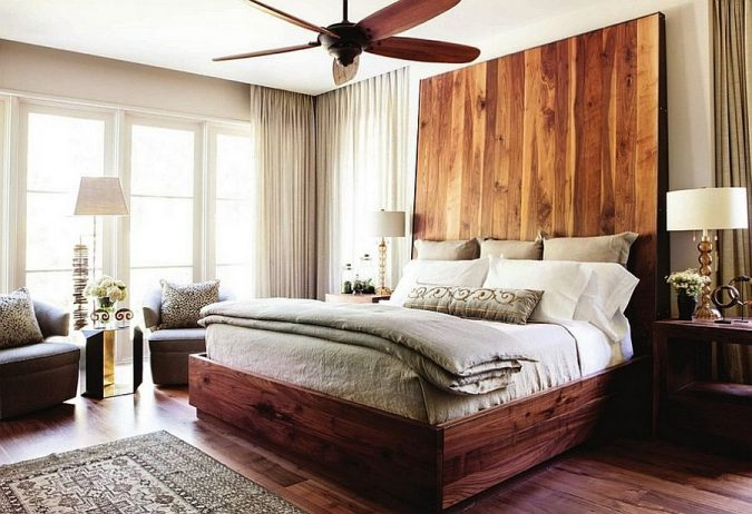 Cool-headboard-bedroom-675x462 8 Tricks You Can Do Make Your Home Look Great