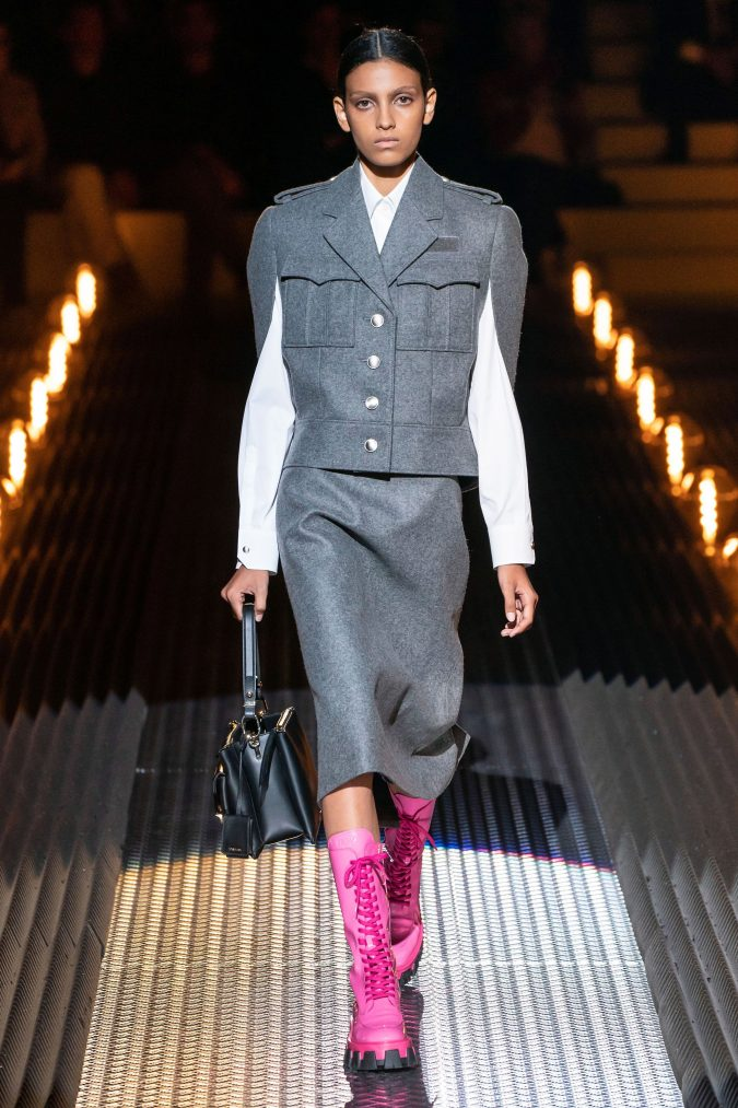 Fall-Winter-fashion-2020-prada-675x1013 60+ Retro Fashion Designs of Fall/Winter 2020 Inspired by the 80s and 90s