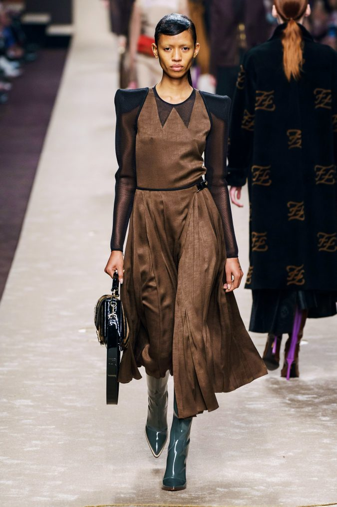 Fall-fashion-2019-jumper-dress-Fendi-2-675x1013 45+ Elegant Work Outfit Ideas for Fall and Winter 2020