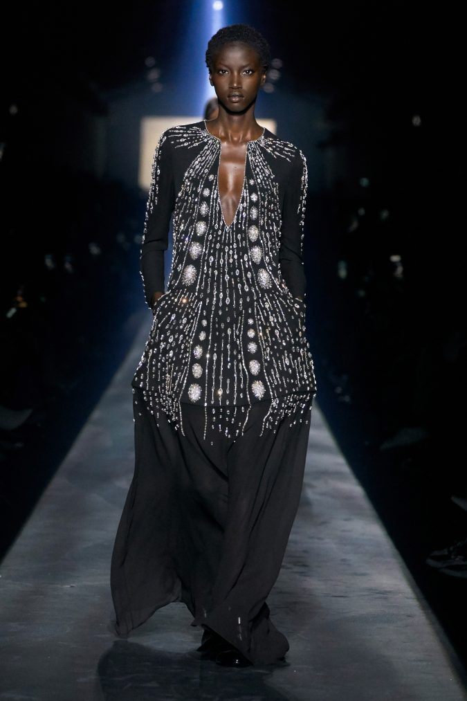 Fall-winter-fashion-2020-dress-cape-looking-sleeves-Givenchy-675x1013 +20 Fall Fashion Trends of 2020 for the Fans of Unusual Shoulders and Sleeves