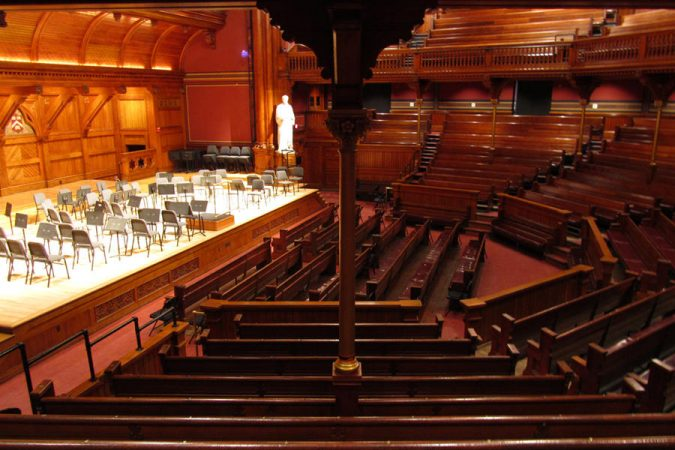 Harvard's-Sanders-Theater-675x450 Top 10 Fairytale Christmas Places for Couples