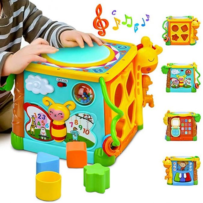 Musical-Cube-1-675x675 Best 10 Christmas Gift Ideas for a New Born Baby