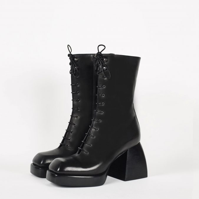 Nodaleto-bulla-lace-up-boots-e1572185282439-675x675 7 Designer Shoes for Women