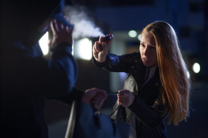 Pepper-Spray-675x450 Top 10 Self-defense Weapons Every Woman Should Carry