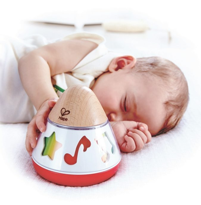 Rotating-Music-Box-675x686 Best 10 Christmas Gift Ideas for a New Born Baby