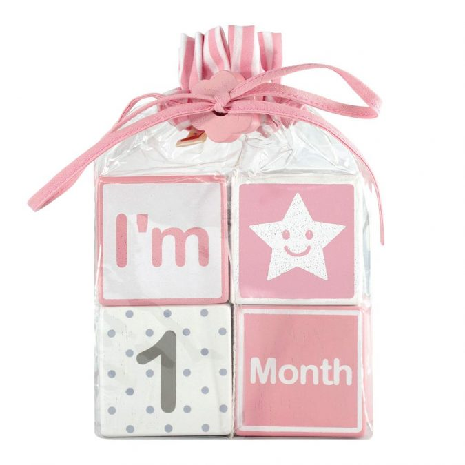 Solid-Wood-Milestone-Age-Blocks-675x675 Best 10 Christmas Gift Ideas for a New Born Baby