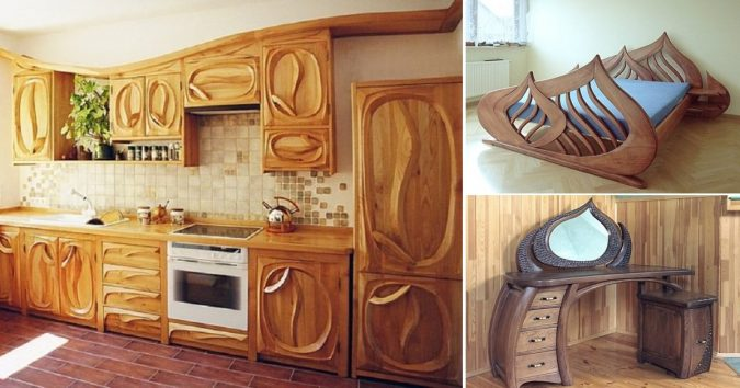"""Wooden-""""furniture""""-pieces-675x354 Using Wood to Decorate Your Home - Easy Tips and Tricks"""