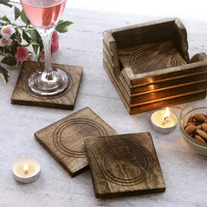 Wooden-coasters-675x675 Using Wood to Decorate Your Home - Easy Tips and Tricks