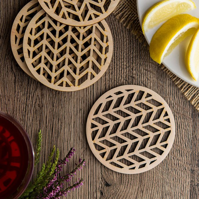 Wooden-coasters.-675x675 Using Wood to Decorate Your Home - Easy Tips and Tricks