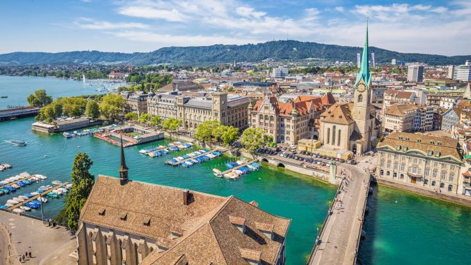 Zurich-Switzerland-675x380 Top 10 Fairytale Christmas Places for Couples