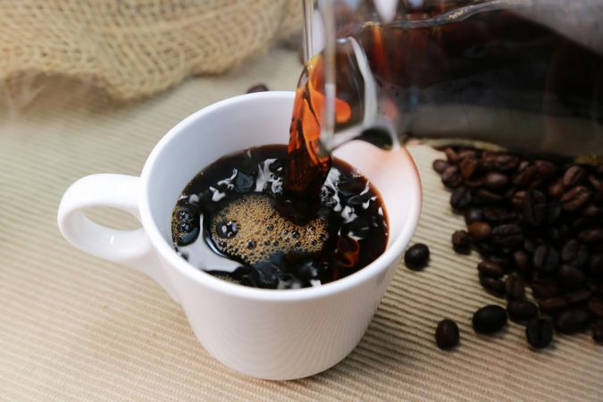 caffeine-in-coffee-poured-into-cup-coffee-beans-675x450 Best Nootropics to Improve Your Brain Power