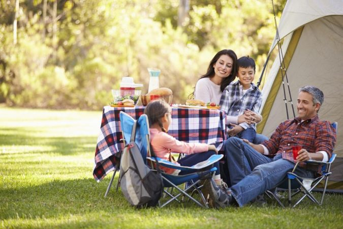 camping-675x450 Top Tips on Surviving Your First Family Camping Trip