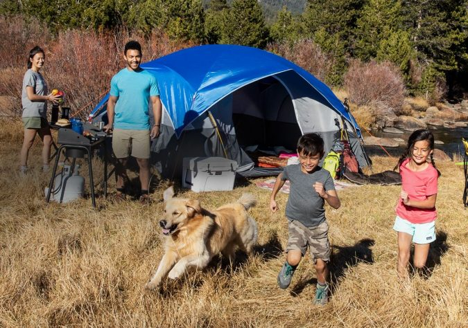 camping-site-2-675x474 Top Tips on Surviving Your First Family Camping Trip