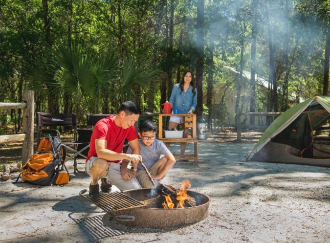 camping-site-675x497 Top Tips on Surviving Your First Family Camping Trip
