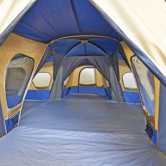 camping-tent-with-multiple-rooms-675x675 Top Tips on Surviving Your First Family Camping Trip