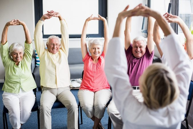 chair-aerobics-675x450 The Secret to a Healthy Old Age Lies in Adopting the Right Lifestyle Changes