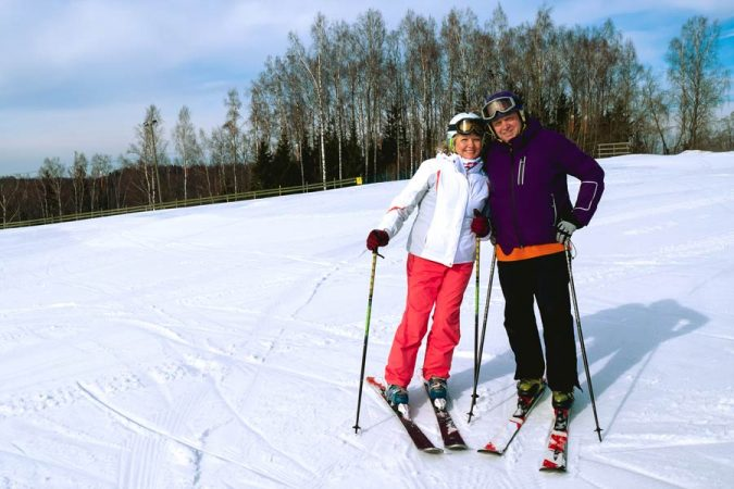 couples-skiing-in-Lapland-Finland-675x450 Top 10 Fairytale Christmas Places for Couples