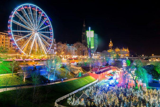 edinburgh-christmas-lights-675x451 Top 10 Fairytale Christmas Places for Couples