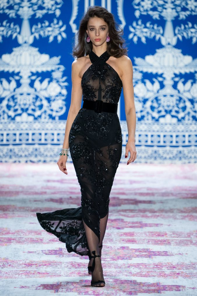 fall-fashion-2019-belted-dress-Naeem-Khan-675x1013 65+ Hottest Fall and Winter Accessories Fashion Trends in 2020
