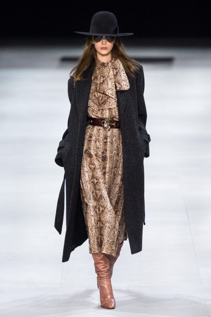 fall-fashion-2019-belted-dress-celine-675x1014 10 Fall/Winter Retro Fashion Trends for the 70s Nostalgics in 2020