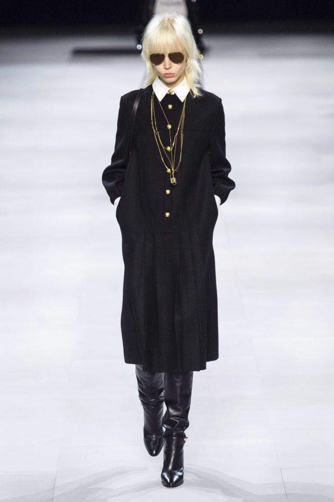 fall-fashion-2019-drop-waist-dress-celine-675x1014 10 Fall/Winter Retro Fashion Trends for the 70s Nostalgics in 2020