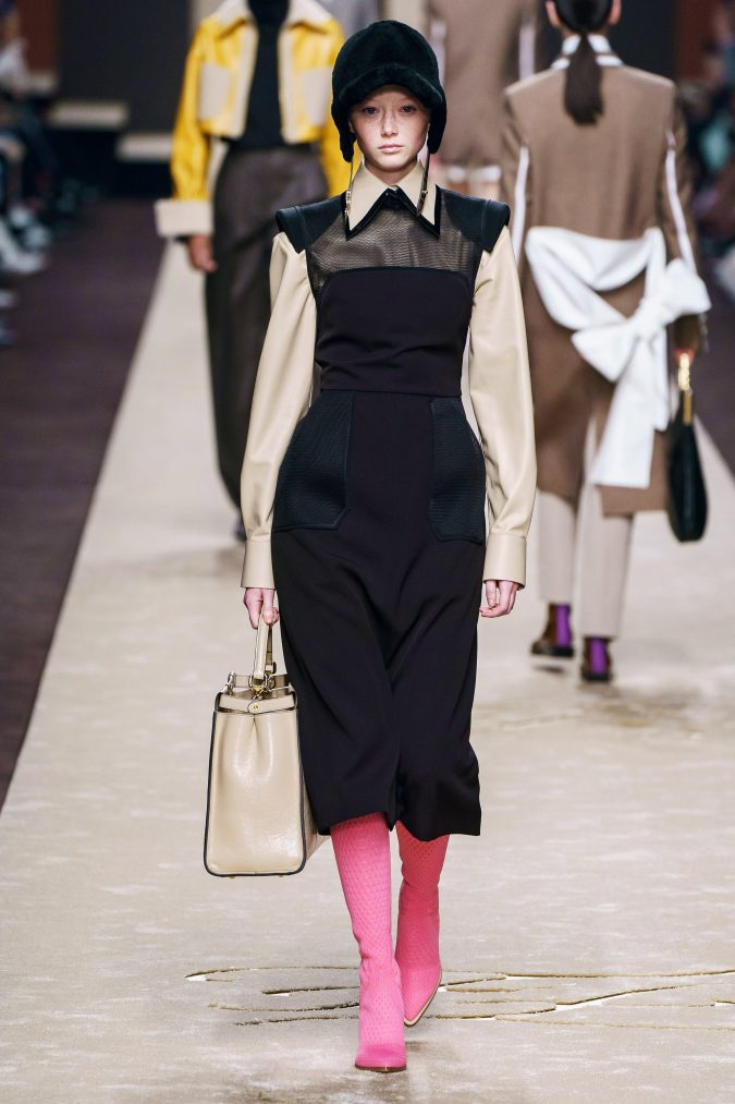fall-fashion-2019-jumper-dress-Fendi-675x1013 10 Fall/Winter Retro Fashion Trends for the 70s Nostalgics in 2020
