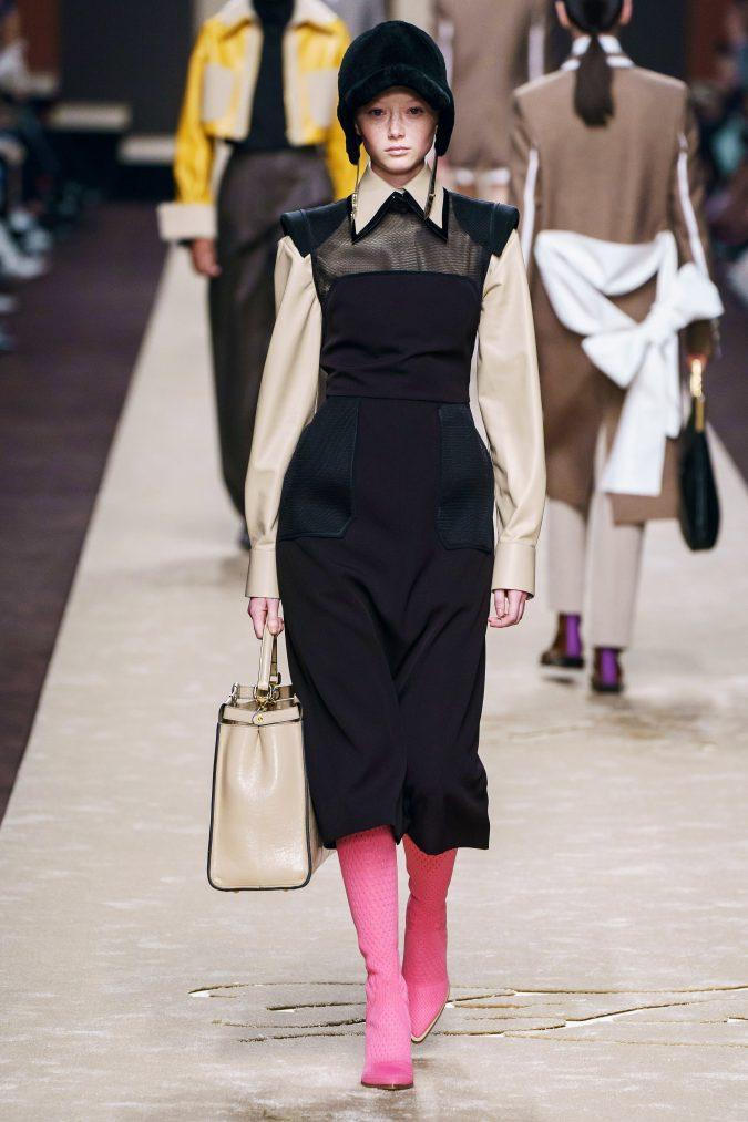 fall-fashion-2019-jumper-dress-Fendi-675x1013 10 Fall/Winter Retro Fashion Trends for the 70s Nostalgics in 2020