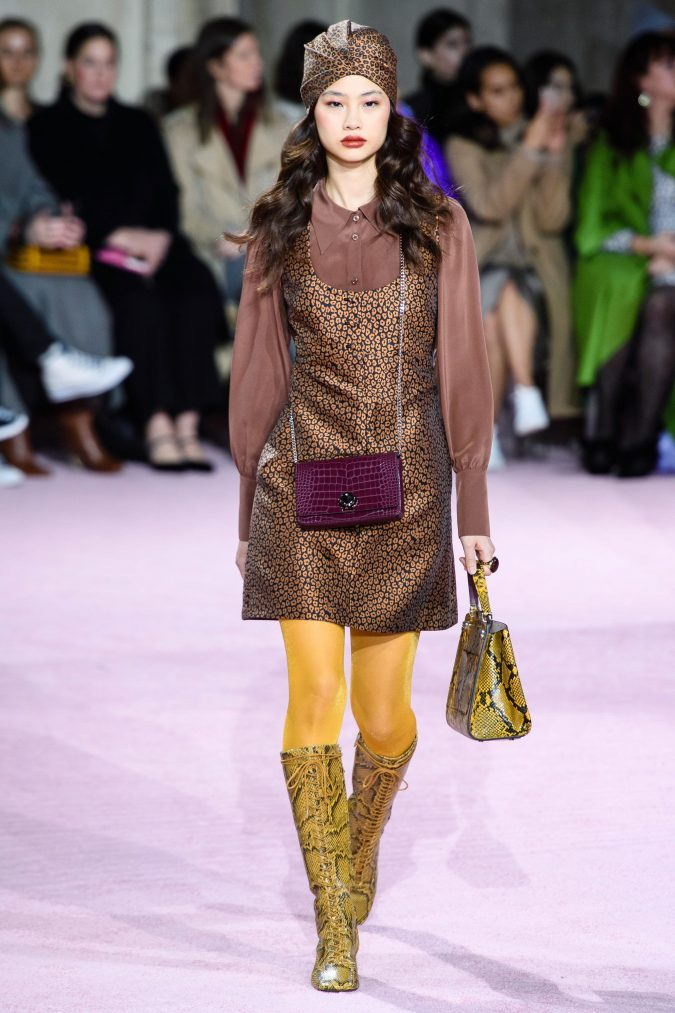 fall-fashion-2019-jumper-dress-kate-spade-675x1013 10 Fall/Winter Retro Fashion Trends for the 70s Nostalgics in 2020