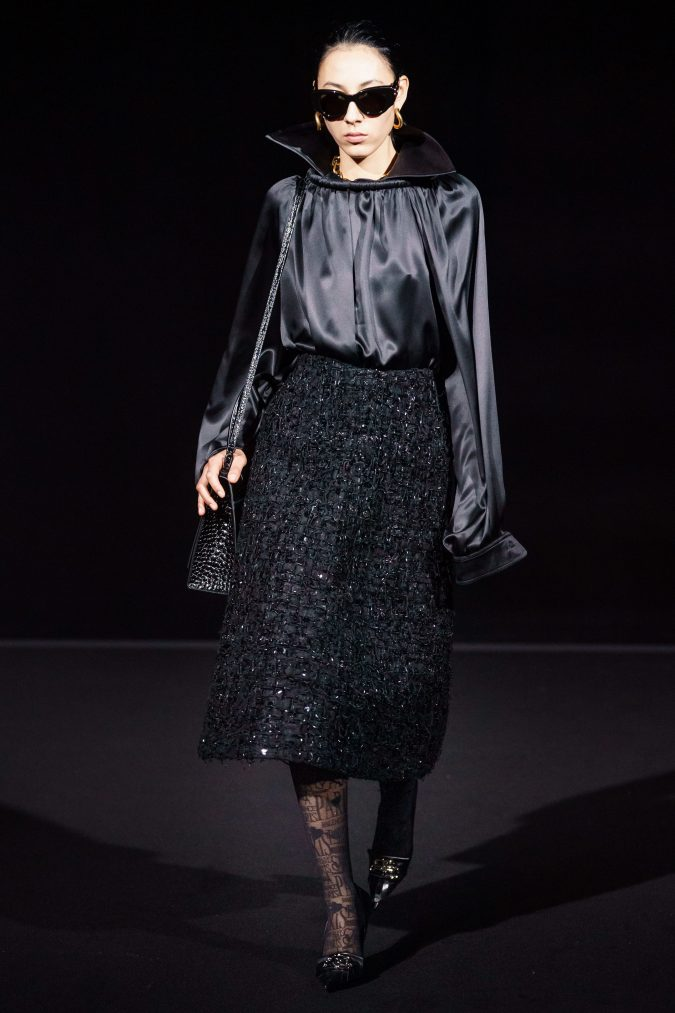 fall-fashion-2019-skirt-balenciaga-675x1013 90 Fall/Winter Fashion Ideas for a Perfect Combination of Vintage and Modern in 2020