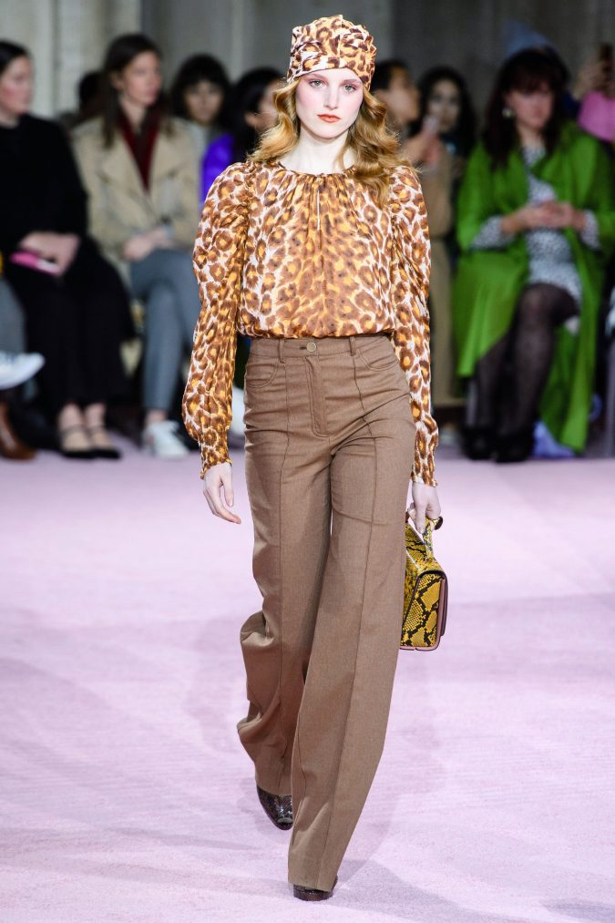 fall-fashion-2019-wide-leg-pants-kate-spade-675x1013 10 Fall/Winter Retro Fashion Trends for the 70s Nostalgics in 2020