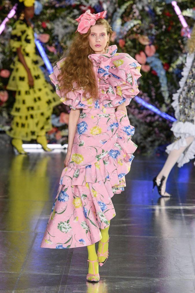 fall-winter-fashion-2019-ruffled-dress-Rodarte-675x1013 +80 Fall/Winter Fashion Trends for a Stunning 2020 Wardrobe
